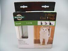 PetSafe Interior 2-Way Locking Cat Door Indoor Pet Flap Hides Litterbox/Food New