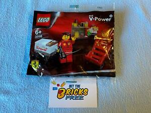Lego Racers 30196 Shell F1 Team Polybag New/Sealed/Retired/Hard to Find