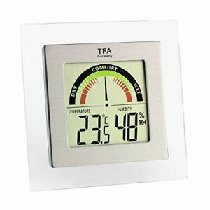 TFA Dostmann Digital Thermometer Hygrometer with Comfort Zone Dial