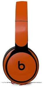Skin for Beats Solo Pro Solids Collection Burnt Orange BEATS NOT INCLUDED