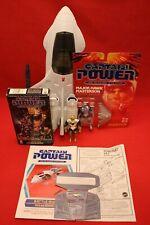 Captain Power Powerjet XT-7 Major Hawk Masterson Action Figures VHS Tape Lot '87