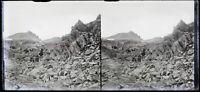 Alpinisti Montagne c1925 Foto Negativo Placca Da Lente Vintage VR16L10n6