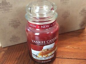 New Retired Yankee Caramel Pecan Pie 22 oz Food Spice Scented Sweet Cinnamon
