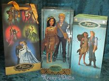 Disney Designer Fairytale Collection Doll  Princess Pocahontas and John Smith