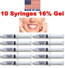 Teeth Whitening 16% Peroxide Tooth Bleaching Whitener Kit Oral Gel System Refill