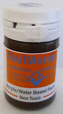 RailMatch 2602 GWR Stock Brown Acrylic Paint 18ml Pot -Tracked 48 Post