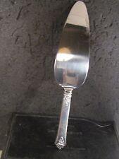 """Royal Crest Sterling Castle Rose CAKE PIE SERVER  9 3/4""""  NM"""