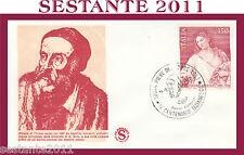 ITALIA FDC FILAGRANO 1976 TIZIANO VECELLIO ANNULLO PIEVE DI CADORE BL G707