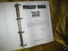 Werkstatthandbuch Daihatsu Charade Motor CB 22 + 60