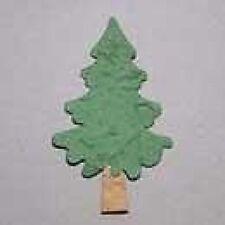 Confezione da 5 Luce Verde Albero di Natale decorazioni per biglietti e Artigianato