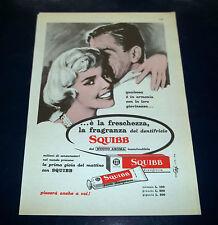 A120-Advertising Pubblicità-1959-SQUIBB DENTIFRICIO