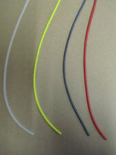 1 mt SILICONE RIG TUBE 3 SIZES IN 4 COLOURS