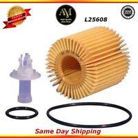 L25608 Oil Filter FOR Lexus RX350 ES350 Toyota Camry Highlander 2.0L 2.5L 3.5L