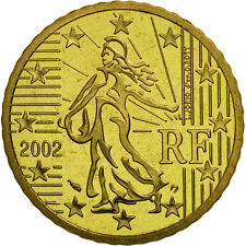 [#462083] France, 50 Euro Cent, 2002, BE, Laiton, KM:1287
