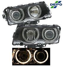 99-01 BMW E38 Halo BLACK Projector Head Light 740IL