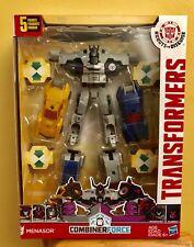 NIB Transformers: Robots in Disguise Combiner Force Team Combiner Menasor, 8.5in