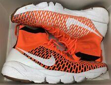 Nike Air Footscape Magista SP Orange White Black Tournament Pack 652960-800 z 10