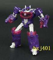 Hasbro TRANSFORMERS SHOCKWAVE 100% complete card+ instruction(no box)