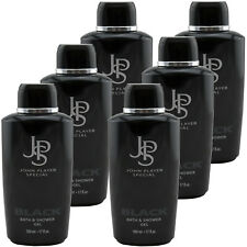 John Player Special BLACK JPS Duschgel 6 x 500 ml Bath & Shower Gel