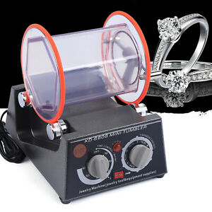 Jewelry Rotary Tumbler Electric Polisher Finisher Machine & Polishing Beads USA
