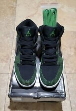 Nike Air Jordan 1 Retro Mid Chlorophyll Black Green 136065 031