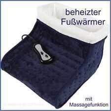 Beheizter Fußwärmer mit Fernbedienung & Massagefunktion - Fußmassage Fußheizung