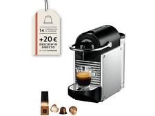 Cafetera de cápsulas - Nespresso De Longhi EN125S SILVER PIXIE.