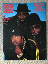 Run Dmc Tougher Than Leather 1987 Tour Concert Program Book Jam Master Jay