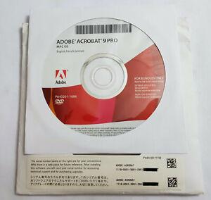 Adobe Acrobat 9 Pro - Deutsch - Macintosh, Vollversion - MwSt
