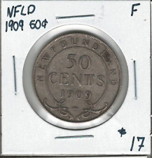 Canada Newfoundland NFLD 1909 50 Cents F