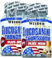Weider Glucosamine + Chondroitin (214,79€/kg) Plus MSM 120 Kapseln