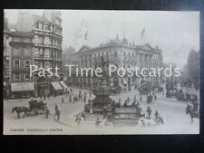 c1906 London PICCADILLY CIRCUS excellent animated scene showing 'AMERY & LOADER'