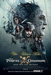 Pirates of the Caribbean Movie Poster Print T545