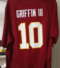 Authentic Robert Griffin III RG3 Washington Redskins Jersey