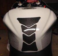 Carbon Fiber Fuel Tank Decal Gas Cap Pad Cover Sticker for Yamaha YZF R1 R6 F5U7