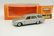 Solido 1/43 - Peugeot 504 Break Civil Gris 23 C