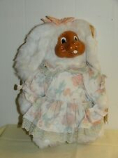 Vintage Buttercup Robert Raikes Wood Face Bunny by Applause 1993 12in