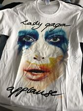Lady Gaga Artpop Applause Official Promo T-shirt From London Roundhouse Large