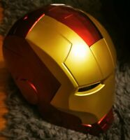 Marvel Legends Avengers Iron Man Electronic Helmet Cosplay  Prop Replica Decor