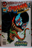 SPIDER-MAN ADVENTURES #10 NEWSSTAND VARIANT first animated VENOM Marvel 1994 FN+