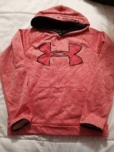 Youth Large Red YLG Under Armour Hoodie Sweat Shirt