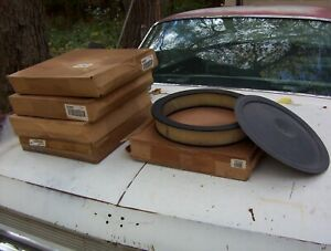 1959 1960 Cadillac Oldsmobile Air Filters (5) and extra cover