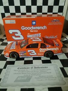 1/18 scale  Revell Collection 1997 Dale Earnhardt Wheaties Monte Carlo