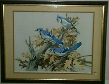 Roger Tory Peterson Blue Jay Signed And Numbered Limited Edition Print