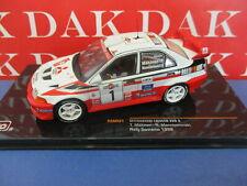 Die cast 1/43 Modellino Auto Mitsubishi Lancer EVO V Rally Sanremo 1998 Makinen