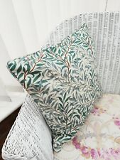 "William Morris cushion Green Willow boughs  18"" CUSHION COVER"