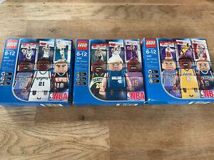 Lego NBA 3560/3562/3563 NEW