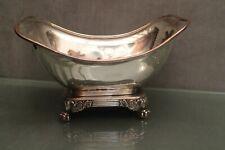 Grand bassin en métal argenté 19e époque Restauration