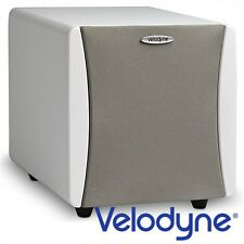 VELODYNE Acoustics IMPACT MINI high-end ATTIVO SUBWOOFER chassis bianco MAX 300 Watt