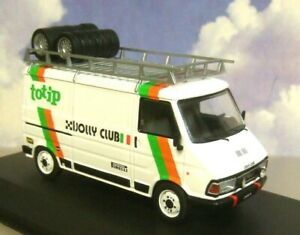 IXO 1/43 FIAT 242 RACING RALLY TEAM TOTIP JOLLY CLUB ASSISTANCE/SUPPORT VAN 1985